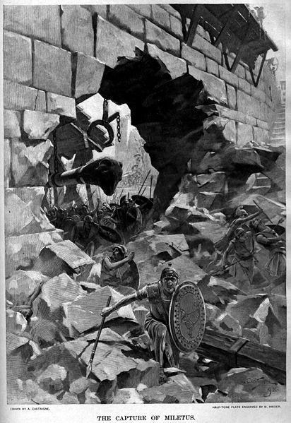 Η άλωση της ΜΙλήτου_έργο του Andre_Castaigne_(1898-1899)
