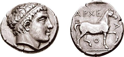 Δίδραχμο _Αρχέλαος ΙΙ_399 π.Χ