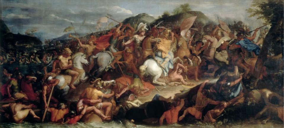 Η μάχη του Γρανικού_πίνακας του Charles_Le_Brun,_1665