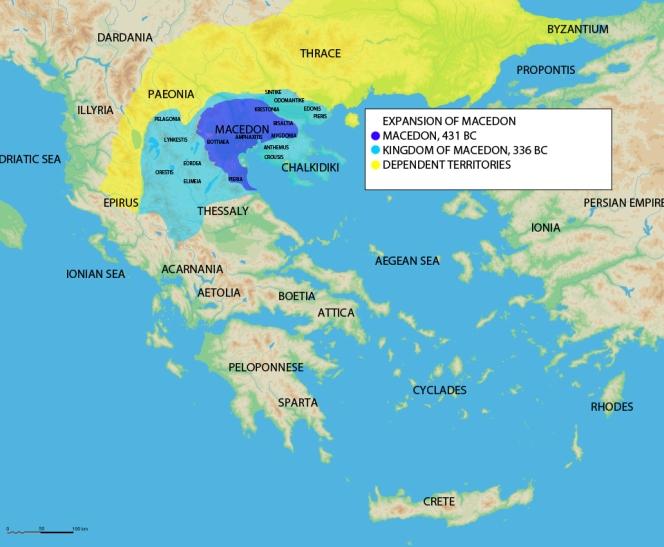 Η Μακεδονία επί βασιλείας Αμύντα Β'