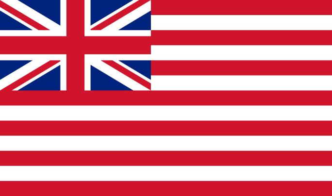 Σημαία της Βρετανικής Εταιρείας Ανατολικών Ινδιών