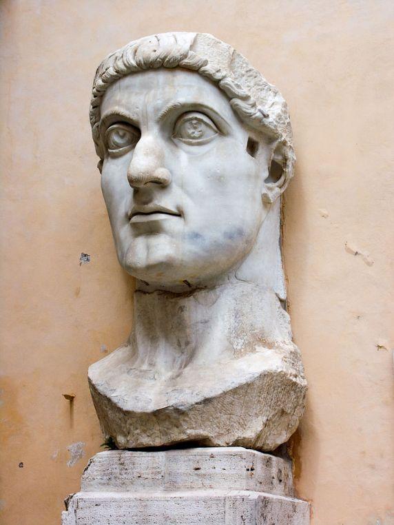 Κωνσταντίνος Ι ο Μέγας (Flavius Valerius Aurelius Constantinus Augustus)_ μουσείο Καπιτωλίου_Ρώμη_πηγή wikipedia