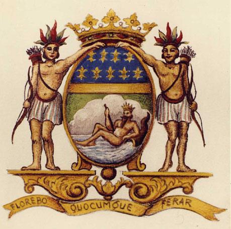 Θυρεός της Γαλλικής Εταιρείας Ανατολικών Ινδιών