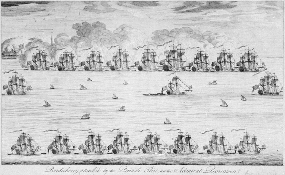 Πολιορκία της Pondichery από τους Βρετανούς