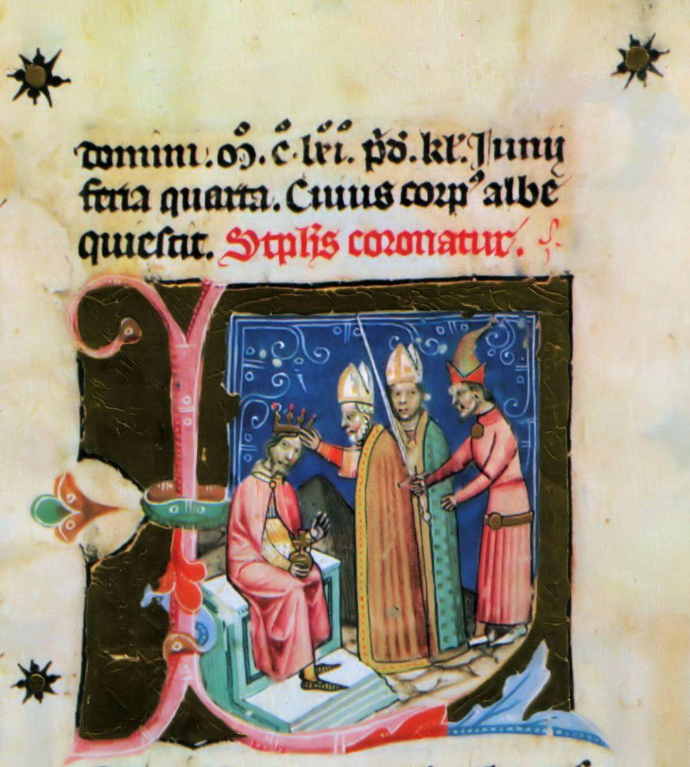 Στέψη του βασιλέα Στέφαν ΙΙΙ της Ουγγαρίας