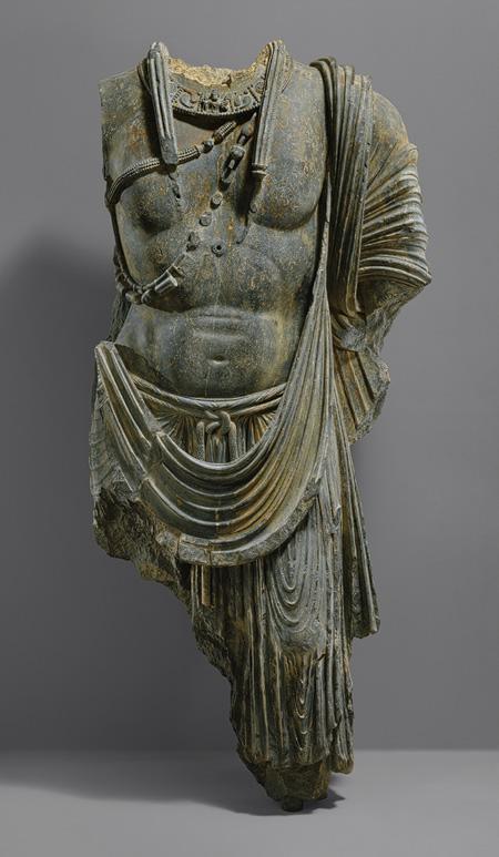 Κορμός μνημειακού Μποντισάτβα_5ος αι. μ.Χ