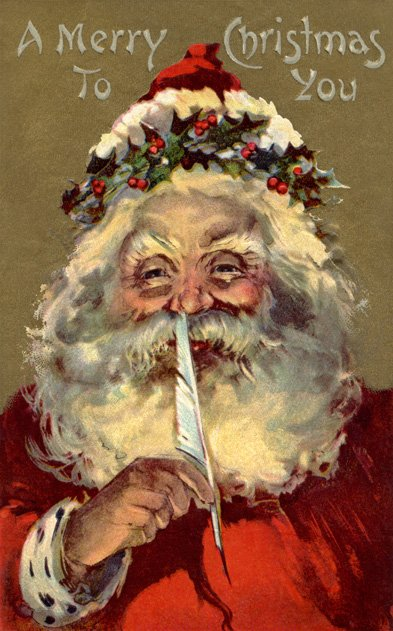 Glowing Santa (Image by ImageZoo/Corbis)