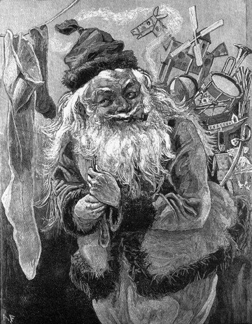 Santa Schemes (Image by Corbis)