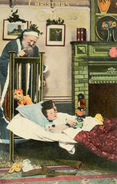 Snooping Santa (Mary Evans Picture Library)