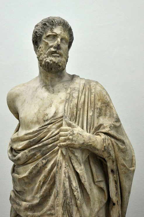 Ιπποκράτης ο Κώος (Αρχαιολογικό Μουσείο της Κω).