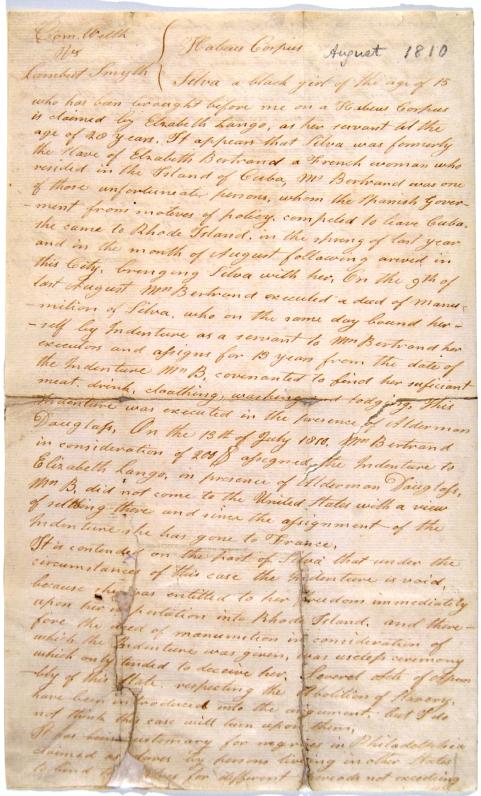 1808 Το Αμερικανικό Κογκρέσο απαγορεύει την εισαγωγή σκλάβων.