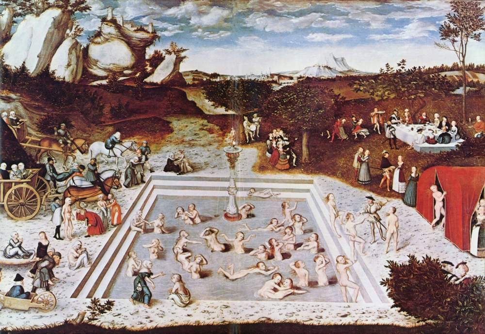 The Fountain of Youth, 1546 painting by Lucas Cranach the Elder