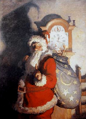 1925 N. C. Wyeth Old Kris The Country Gentleman Print: St Nicholas Center Collection Copyright © 2002-2015 St. Nicholas Center