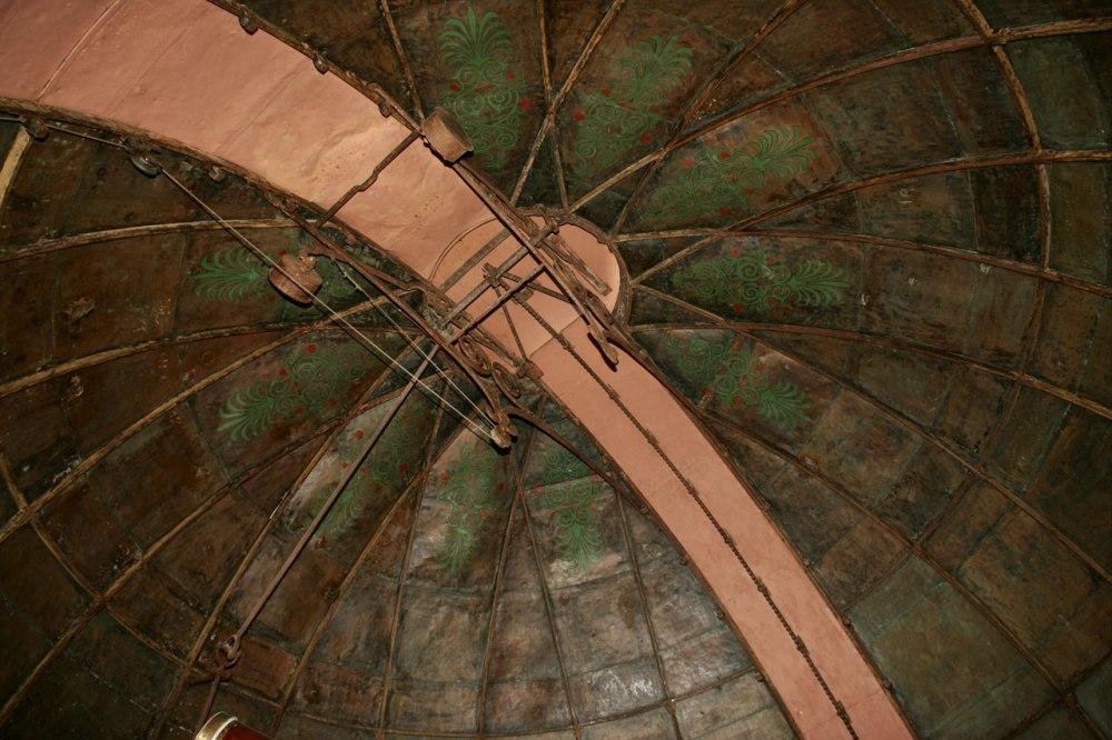 Θόλος του κτιρίου Σίνα _πηγή: Εθνικό Αστεροσκοπείο Αθηνών