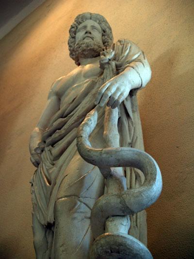 Ασκληπιός, Αρχαιολογικό Μουσείο Επιδαύρου