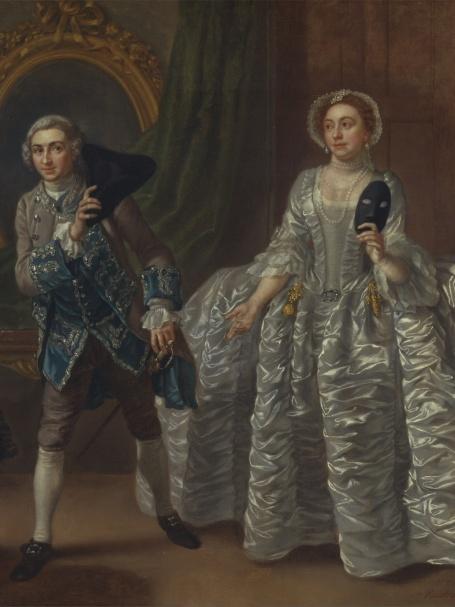 Francis_Hayman_-_David_Garrick_Ο Καχύποτος σύζυγος_έργο του Francis Hayman (1708–1776)_μουσείο Βρετανικής τέχνης_Yale_wikipedia