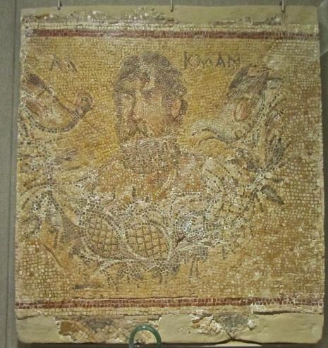 Μωσαϊκό πορτρέτο του Αλκμάν _wikipedia