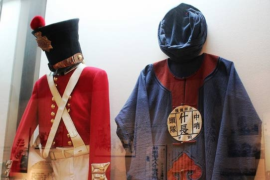 British East India Company and Qing Chinese army uniforms from the Opium Wars in China. Photo Credit: Chrysaora on Flickr.com asianhistory.about.com URL [http://asianhistory.about.com/od/colonialisminasia/ss/China-Opium-Wars.htm#step1]