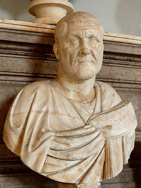 Μαρμάρινη προτομή Μαξιμίνου Α' (Θράξ)_Μουσείο Ρώμης-wikipedia