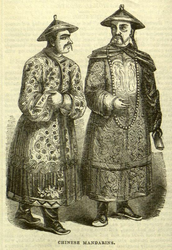 Chinese Mandarins, Illustrated London News, November 12, 1842 [iln_1842_174_mandarins_012b]