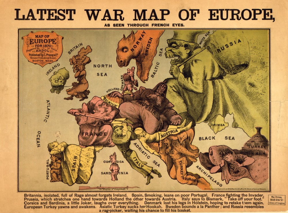 Euroscepticism and engagement has a long history. US Library of Congress