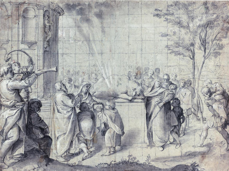 Ο Πελίας πίνει αίμα ταύρου Agostino Carracci - Sacrificio di Pelia Wikipedia URL [https://commons.wikimedia.org/wiki/Category:Pelias#/media/File:Agostino_Carracci_-_Sacrificio_di_Pelia.png]