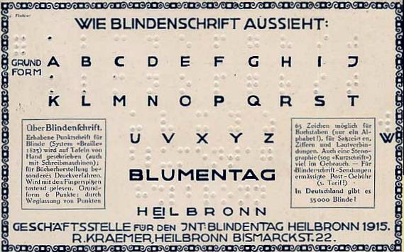 Το σύστημα BRAILLE Wikipedia URL [https://en.wikipedia.org/wiki/Louis_Braille]