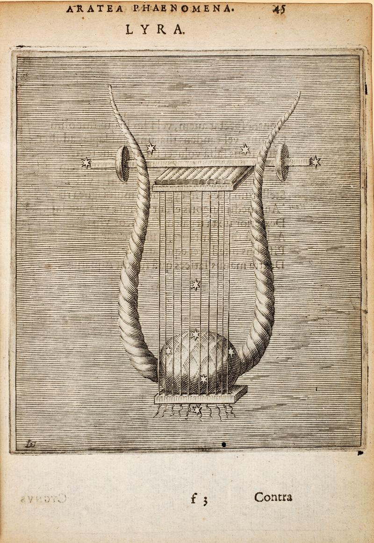 Λύρα (Αστερισμός) Wikipedia URL [https://commons.wikimedia.org/wiki/Category:Prints_from_Hugo_de_Groot_Syntagma_Arateorum_at_the_Peace_Palace_Library]