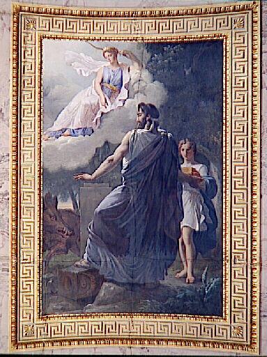 Η εκδίκηση της Ντιάνας βρίσκει τον Οινέα, βασιλέα της Καλυδώνας La vengeance de Diane envers Oenée, roi de Calydon Wikipedia URL [https://commons.wikimedia.org/wiki/Category:Oeneus]
