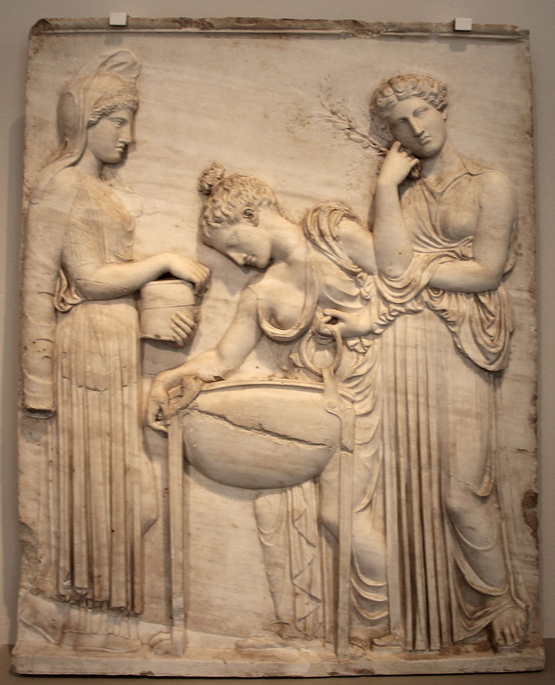 Η Μήδεια και οι κόρες του Πελία Rilievo con medea e le figlie di pelia, copia romana del II secolo da orig. greco del 420 ac ca. wikipedia URL [https://commons.wikimedia.org/wiki/Category:Medea#/media/File:Rilievo_con_medea_e_le_figlie_di_pelia,_copia_romana_del_II_secolo_da_orig._greco_del_420_ac_ca._01.JPG]