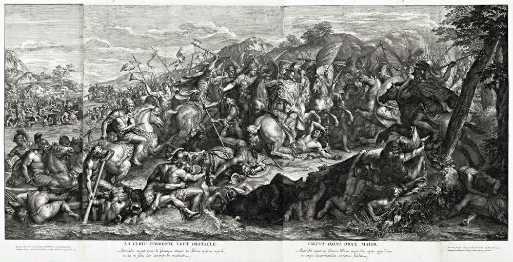 Η διάβαση του Γρανικού_πίνακας του Charles le Brun_1672_wikipedia