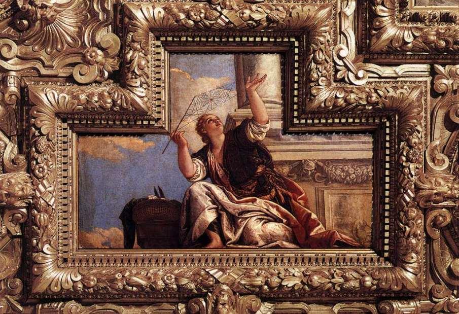 Αράχνη (Παλάτι των Δόγηδων στη Βενετία - Βερονέζε 1578) URL [http://habilisii-habilis.blogspot.gr/2013/08/blog-post.html]