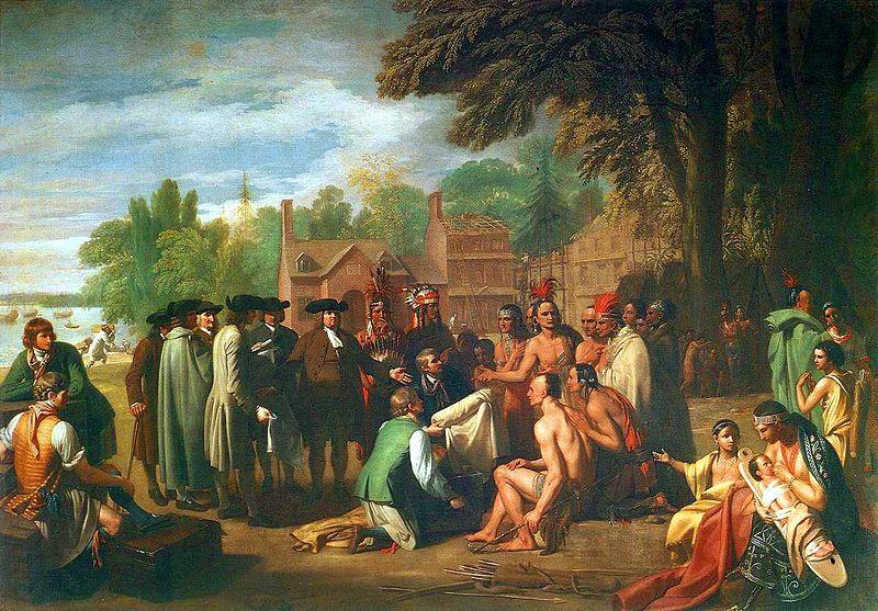 Συνθήκη μεταξύ William Penn και φύλαρχων Λενάπε (1682) _wikipedia