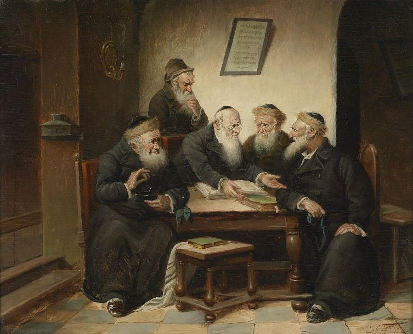 Carl_Schleicher_Beim_Rabbi