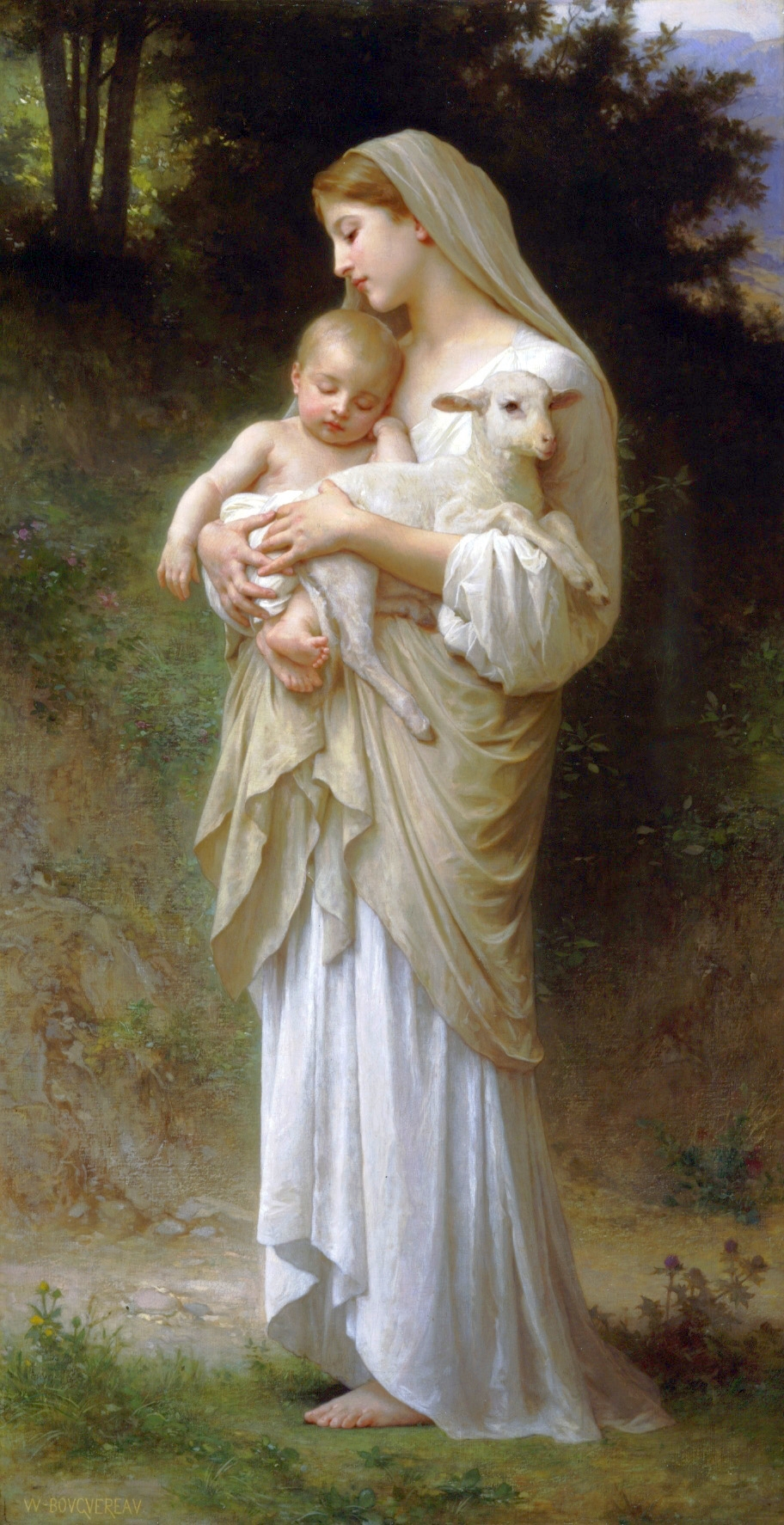 03. Innocence (1893) William-Adolphe Bouguereau.jpg