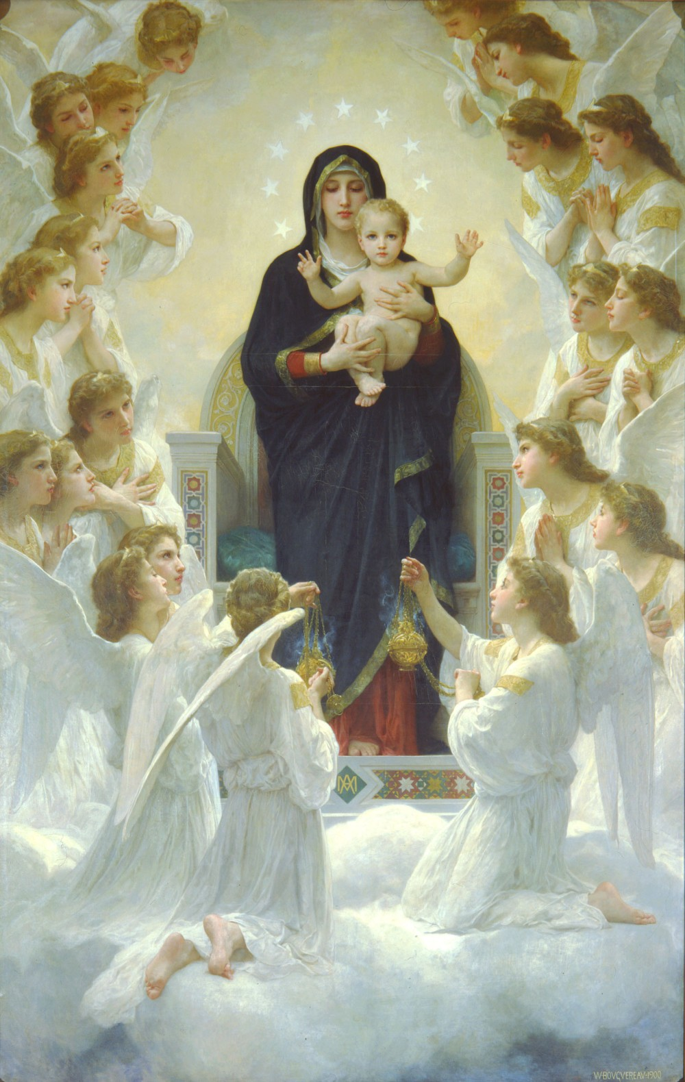 05. The Virgin With Angels (1900) William-Adolphe Bouguereau.jpg