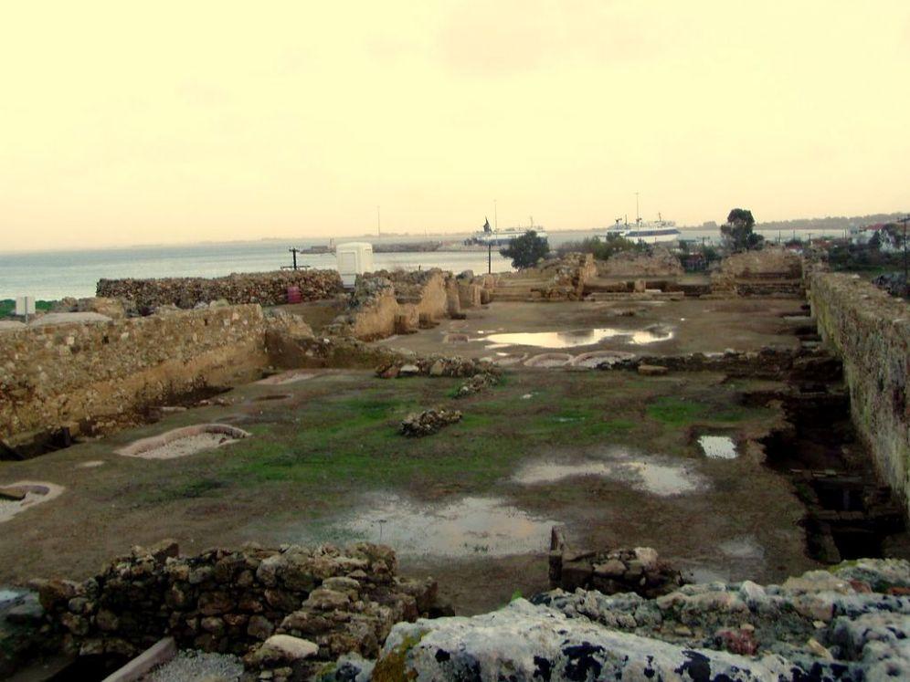 Ερείπια του κάστρου της Γλαρέντζας