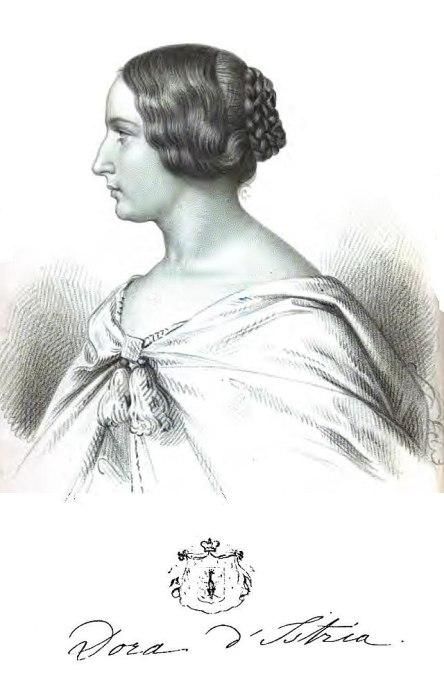 Ντόρα (Δώρα) Ντ' Ίστρια, φιλολογικό ψευδώνυμο της Έλενας Γκίκα