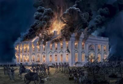 1851_Καίγεται η βιβλιοθήκη του Κογκρέσου.