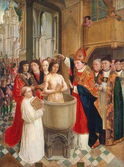 496_Ο Κλόβις Ι βαπτίζεται και οι Φράγκοι ασπάζονται τον Καθολικισμό