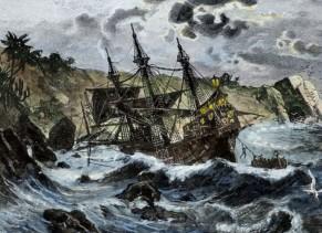 1492_ Βυθίζεται το πλοίο του Χριστόφορου Κολόμβου Santa Maria