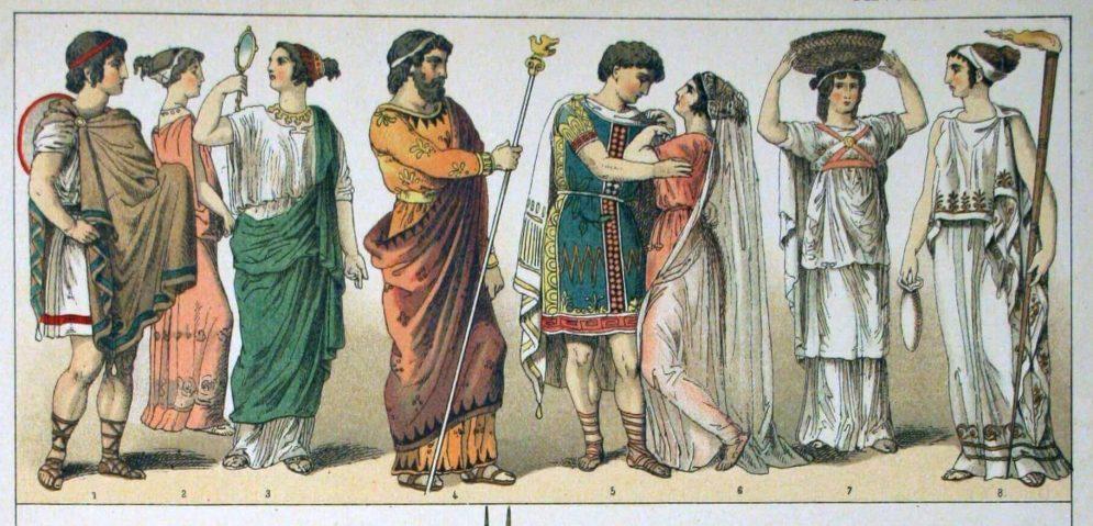 Η ενδυμασία στην αρχαία Ελλάδα – Χείλων